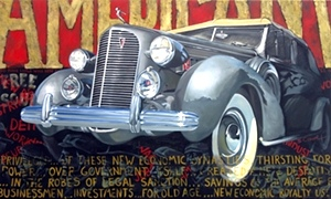 Classic Automotive Art Prints