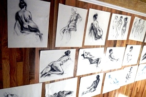 Monday Night Life Drawing now being organized by Doug Kimble
